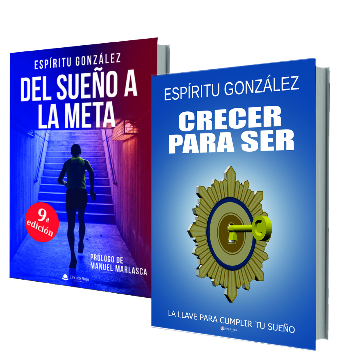 Pack libros Crecer para ser y Del sueño a la meta